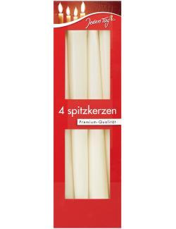 Jeden Tag Spitzkerzen creme  (4 St.) - 4306188342540