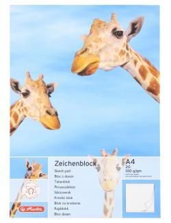 Herlitz Zeichenblock A4 20 Blatt  - 4008110494418