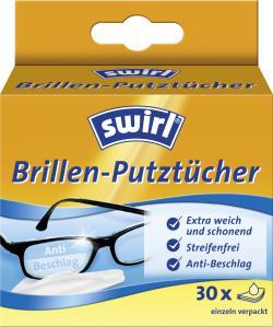 Swirl Brillen-Putztücher  (30 St.) - 4006508141586