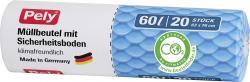 Pely Clean Comfort Mülleimer-Beutel 60 Liter  (20 St.) - 4007519085081
