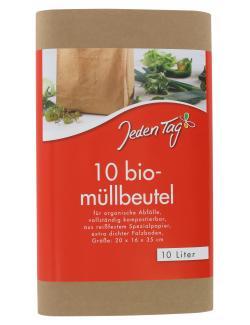 Jeden Tag Bio M�llbeutel 10 Liter  (10 St.) - 4306188048664