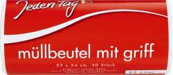 Jeden Tag M�llbeutel mit Griff 25 Liter  (30 St.) - 4306180086367