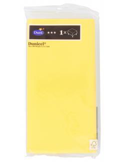 Duni uni Dunicel-Tischdecke 125 x 180cm gelb 210172