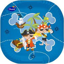 Duni Pappteller 22 x 22cm Captain Jack  (1 St.) - 7321011608676