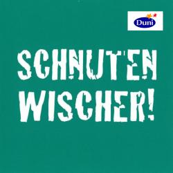 Duni Servietten 33 x 33cm Schnutenwischer gr�n  (1 St.) - 7321011677061