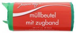 Jeden Tag M�llbeutel mit Zugband 60 Liter  (30 St.) - 4306180090159