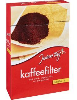 Jeden Tag Kaffeefilter Gr��e 4  - 4306188322757