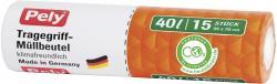 Pely Tragegriff-M�llbeutel 40 Liter  (1 St.) - 4007519056470