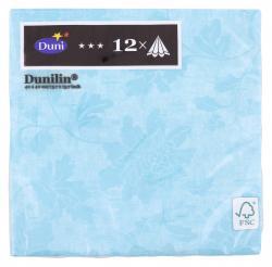 Duni Servietten Dunilin 40x40cm Venezia Pastel Turquoise  (1 St.) - 7321011674046