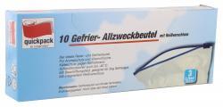 Quickpack Gefrierbeutel mit Reißverschluss 3 Liter  (1 St.) - 4008284070784