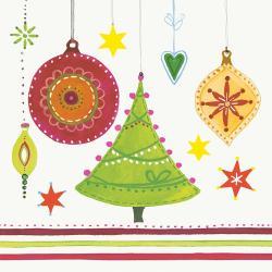 Duni Christmas Tree Tissue-Servietten 33x33cm  (1 St.) - 7321011693658
