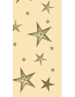 Duni My Star Cream Dunicel-Mitteldecke 84x84cm  (1 St) - 7321011693252