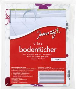 Jeden Tag Vlies-Bodent�cher  (2 St.) - 4306188048893