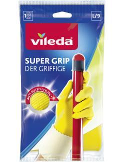 Vileda Der Griffige Handschuhe L  - 4003790006739