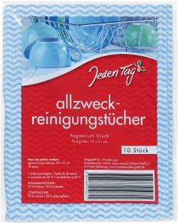 Jeden Tag Spül- und Wischtücher  - 4306188059615