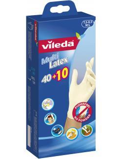 Vileda Multi Latex Einmalhandschuh Gr. 7,5-8,5 M/L  - 4023103130470