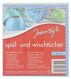 Jeden Tag Sp�l- und Wischt�cher  (1 St.) - 4306180096441