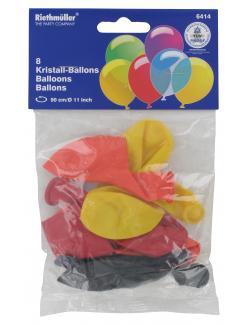 Riethmüller Kristall-Luftballons  (8 St.) - 4009775641414