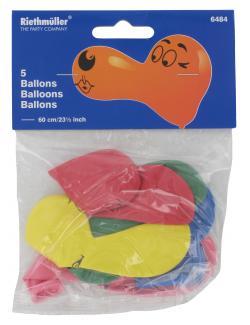 Riethmüller Nasen-Ballons  (5 St.) - 4009775648413