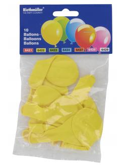 Riethmüller Luftballons gelb  (10 St.) - 4009775642213