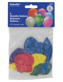 Riethm�ller Metallic-Luftballons  (8 St.) - 4009775643616