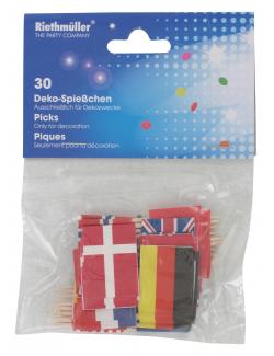 Riethm�ller Flaggenspie�chen International  (30 St.) - 4009775531012