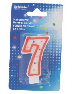 Riethm�ller Zahlenkerze 7  (1 St.) - 4009775121749