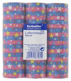 Riethm�ller Luftschlangen Sterne  (1 St.) - 4009775632610