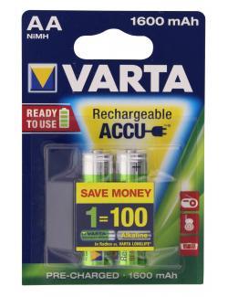 Varta Rechargeable Accu AA Mignon 1,2V  (2 St.) - 4008496635702