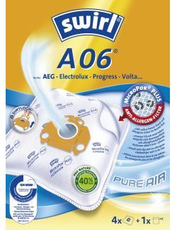 Swirl Staubfilterbeutel A06 MicroPor  (4 St.) - 4006508184293