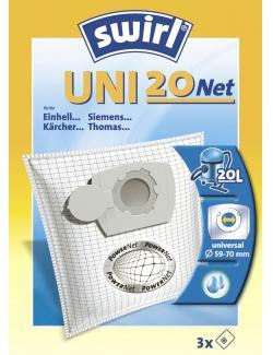 Swirl Staubfilterbeutel Uni 20 Net  (1 St.) - 4006508196333