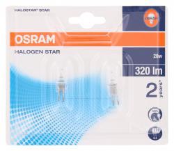 Osram Halogen Star 20 W 12V G4  (2 St.) - 4008321201836