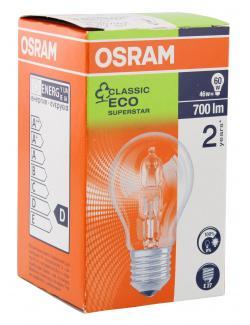 Osram Classic Eco Superstar 46W 230V E27  (1 St.) - 4008321212078