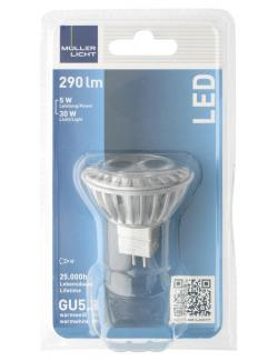 M�ller Licht Leuchtmittel LED 5W GU5,3 warmwei�  (1 St.) - 4018412026149