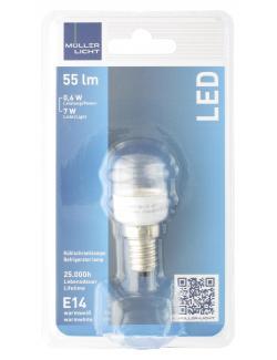 M�ller Licht Leuchtmittel LED 0,6W E14 warmwei�  (1 St.) - 4018412022707