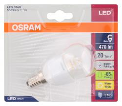 Osram LED Star Classic P40 6W 220-240V E14  - 4052899911963