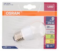 Osram LED Star Classic P 40 6W 220-240V E27  - 4052899911949