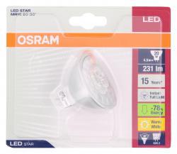 Osram LED Star MR16 4,5W 12V GU5,3  - 4052899910386