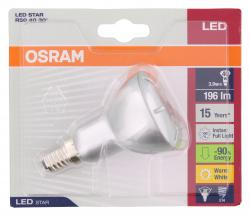 Osram LED Star R50 3.9W 220-240V E14  - 4052899920477