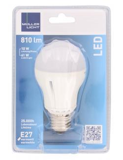 M�ller Licht Leuchtmittel LED 10W E27 warmwei�  (1 St.) - 4018412025586