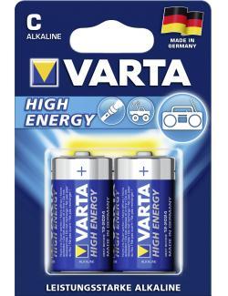 Varta High Energy Alkaline C Baby 1,5V  (2 St.) - 4008496810369