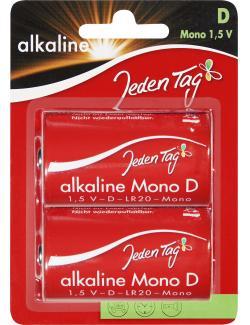 Jeden Tag Alkaline D Mono 1,5V  (2 St.) - 4306188342878