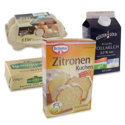 Set: Dr. Oetker Zitronen-Kuchen  - 2145300000805