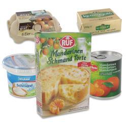 Set: Ruf Mandarinen-Schmand Torte  - 2145300000906