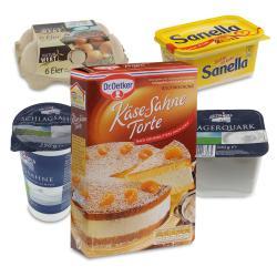 Set: Dr. Oetker K�se-Sahne-Torte  - 2145300000922
