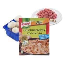 Set: Knorr Fix Geschnetzeltes Züricher Art  - 2145300001446