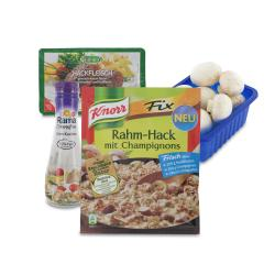 Set: Knorr Fix Rahm-Hack mit Champignons  - 2145300001576
