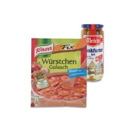 Set: Knorr Fix W�rstchen Gulasch  - 2145300001606