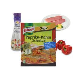 Set: Knorr Fix Paprika-Rahm Schnitzel  - 2145300001651