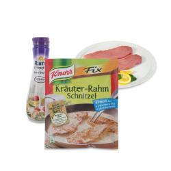 Set: Knorr Fix Kräuter-Rahm Schnitzel  - 2145300001677